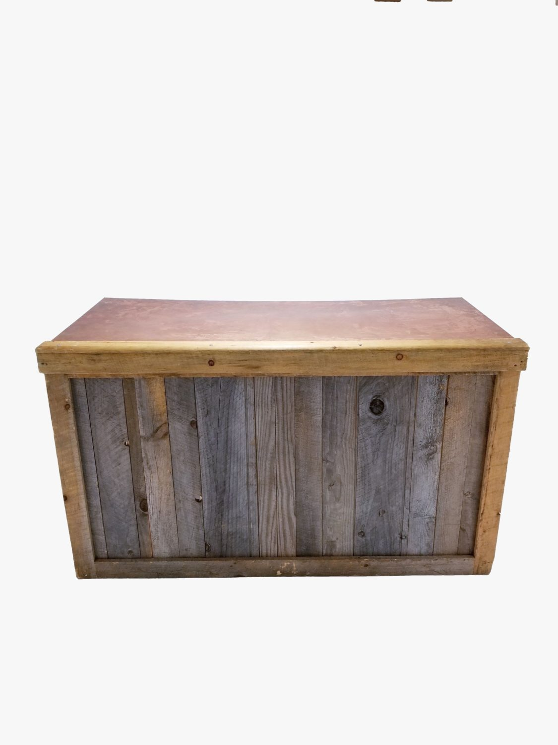 Reclaimed Lumber Copper Top | Rain or Shine Tent Company