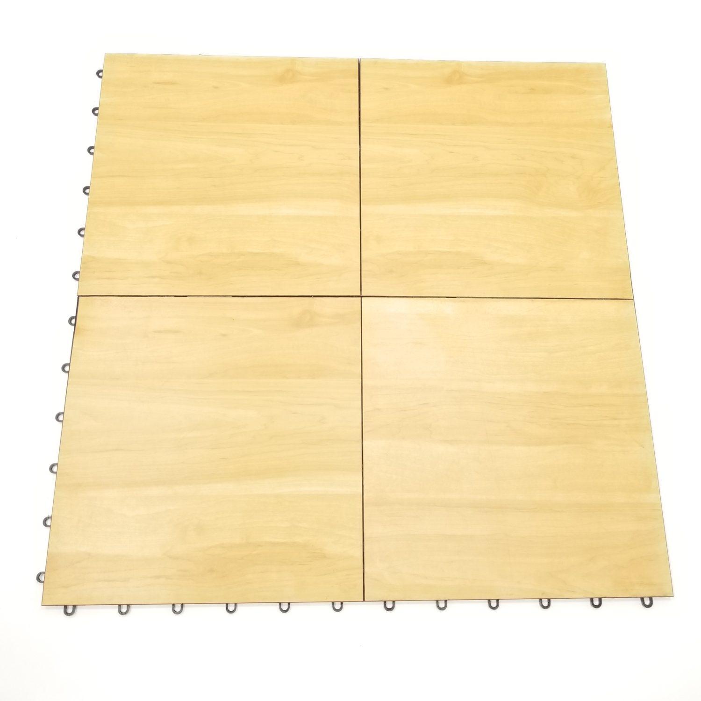 Maple Finish Snap Lock Floor